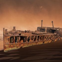 Epave bateau